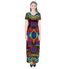 Uk,  (2),ujjoll Short Sleeve Maxi Dress by MRTACPANS
