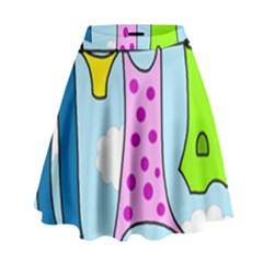 Laundry High Waist Skirt by Valentinaart