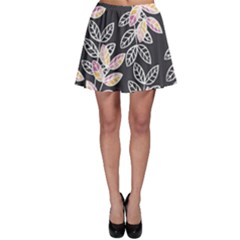 Winter Foliage Skater Skirt by DanaeStudio