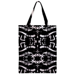 The Only One Is Free Zipper Classic Tote Bag by MRTACPANS