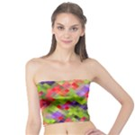 Colorful Mosaic Tube Top