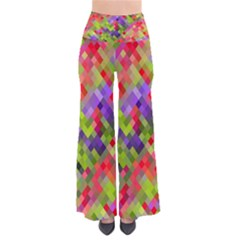 Colorful Mosaic Women s Chic Palazzo Pants  by DanaeStudio