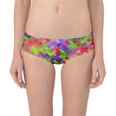Colorful Mosaic Classic Bikini Bottoms by DanaeStudio