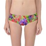 Colorful Mosaic Classic Bikini Bottoms