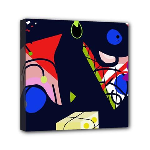Gift Mini Canvas 6  X 6  by Valentinaart