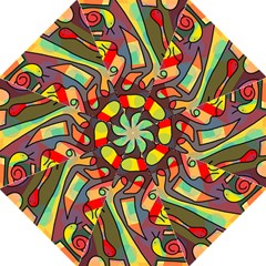 Colorful Dream Folding Umbrellas by Valentinaart