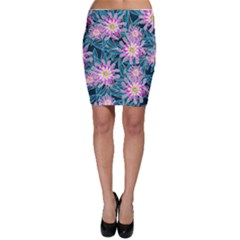 Whimsical Garden Bodycon Skirt by DanaeStudio