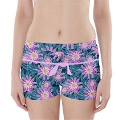 Whimsical Garden Boyleg Bikini Wrap Bottoms by DanaeStudio