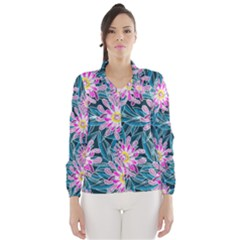 Whimsical Garden Wind Breaker (women) by DanaeStudio