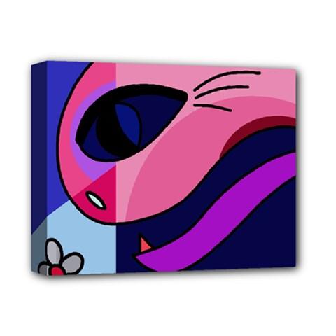 Strange Love Deluxe Canvas 14  X 11  by Valentinaart