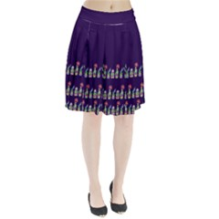 Dress Cute Cactus Blossom Pleated Skirt by DanaeStudio