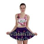 Cute Cactus Blossom Mini Skirt