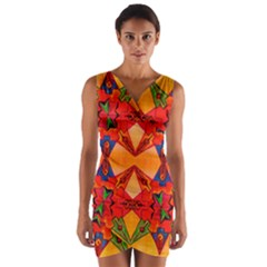 Ghbnh Wrap Front Bodycon Dress by MRTACPANS
