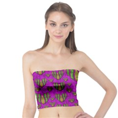 Love In Colors And Heart In Rainbows Tube Top by pepitasart