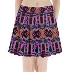 NOD THE HEAD Pleated Mini Skirt by MRTACPANS