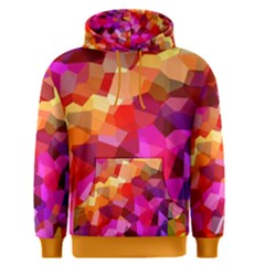 Geometric Fall Pattern Men s Pullover Hoodie by DanaeStudio