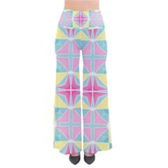 Pastel Block Tiles Pattern Pants by TanyaDraws
