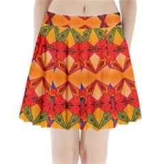 Zazar Queen Pleated Mini Skirt by MRTACPANS