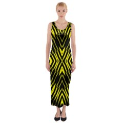 Yyyyyyyyy Fitted Maxi Dress by MRTACPANS