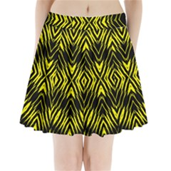 Yyyyyyyyy Pleated Mini Skirt by MRTACPANS
