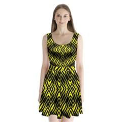 Yyyyyyyyy Split Back Mini Dress  by MRTACPANS