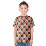 Modernist Geometric Tiles Kid s Cotton Tee