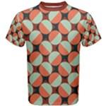 Modernist Geometric Tiles Men s Cotton Tee