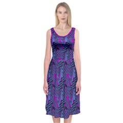 Dizzy Midi Sleeveless Dress by Contest1673627