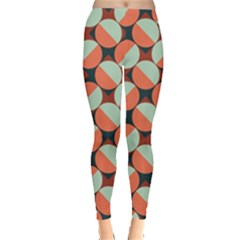 Modernist Geometric Tiles Leggings  by DanaeStudio