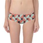Modernist Geometric Tiles Classic Bikini Bottoms