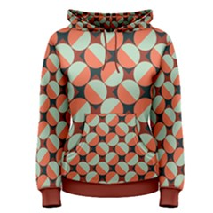Modernist Geometric Tiles Women s Pullover Hoodie by DanaeStudio
