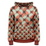 Modernist Geometric Tiles Women s Pullover Hoodie