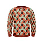Modernist Geometric Tiles Kids  Sweatshirt
