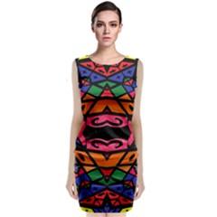 Monkey Best  Classic Sleeveless Midi Dress by MRTACPANS