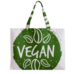 Vegan Label3 Scuro Zipper Mini Tote Bag by CitronellaDesign