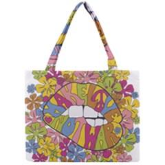 Makelovenotwar Mini Tote Bag by nickmanofredda