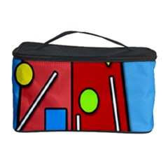 Crazy Building Cosmetic Storage Case by Valentinaart