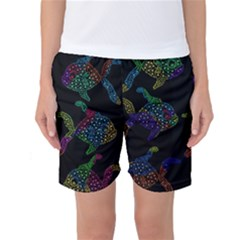 Decorative fish Women s Basketball Shorts by Valentinaart
