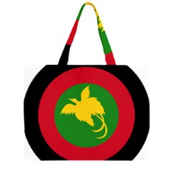 Roundel of Papua New Guinea Air Operations Element Large Tote Bag by abbeyz71