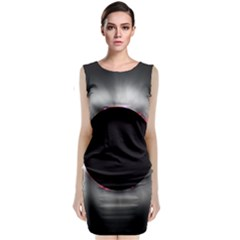 Solar Eclipse Classic Sleeveless Midi Dress by Zeze