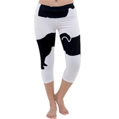 Pomsky Silo Capri Yoga Leggings by TailWags