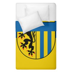 Flag of Leipzig Duvet Cover Double Side (Single Size) by abbeyz71
