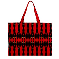 Ancient Divide Zipper Mini Tote Bag by MRTACPANS