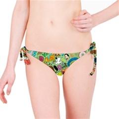 D Pattern Bikini Bottom by AnjaniArt