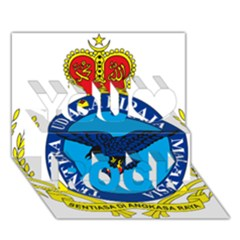 Crest of Royal Malaysian Air Force You Rock 3D Greeting Card (7x5) by abbeyz71