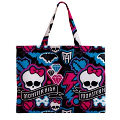 Monster High 03 Zipper Mini Tote Bag by AnjaniArt