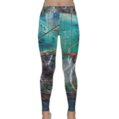 Vegas The Deep End  Yoga Leggings  by CrypticFragmentsColors