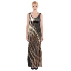 Copper Canyon Maxi Thigh Split Dress by CrypticFragmentsDesign