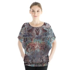 1a Mirror Lost Abstract  (2) Blouse by CrypticFragmentsDesign