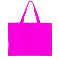 Magenta Colour Large Tote Bag by artpics
